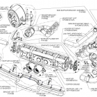 Akrapovic Evolution 911 GT3/GT3 RS (997 FL) Schematics