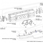Akrapovic Sports Cup exhaust system for 911 GT3/RS (997 FL) Schematics