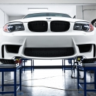BMW 1M with KW V3 Suspension