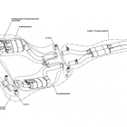 Akrapovic Mercedes C63 AMG Evolution Exhaust System Schematics