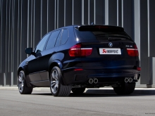 Akrapovic Evolution exhaust system for the BMW X5 M (E70)