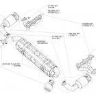 Akrapovic Evolution 911 GT2 (997) Schematics