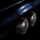 Akrapovic Evolution Carbon Fiber tail pipes