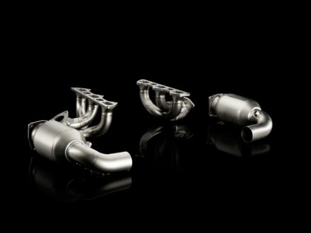 Akrapovic Upgrade Kit 1 for the Porsche 911 GT2/GT2 RS (997)