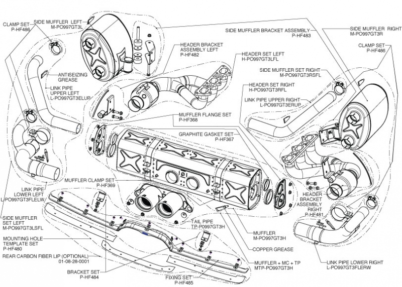 porsche engine schematics porsche wiring diagrams cars porsche engine schematics description akrapovic evolution 911 gt3 gt3 rs 997 fl schematics