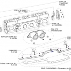 Slip-On exhaust 911 GT3/RS (997 FL) Schematics