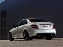 Akrapovic Mercedes C63 AMG Exhaust System