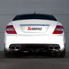 Akrapovic Mercedes C63 AMG Evolution Exhaust System