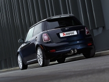 Akrapovic Evolution exhaust system for the MINI JCW (R56/R57)