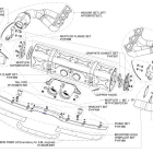 Akrapovic Evolution Race exhaust system for 911 GT3/RS (997 FL) Schematics