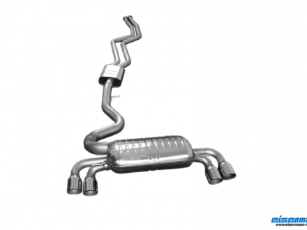 Eisenmann Exhaust System for BMW 1M