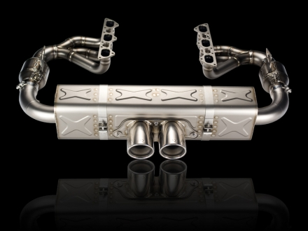 Akrapovic Evolution Race exhaust system for Porsche 911 GT3/RS (997 FL)