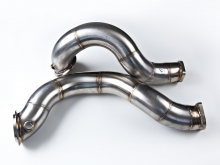 "AR Design Hi-Flo 3"" Catless Downpipes for BMW N54"