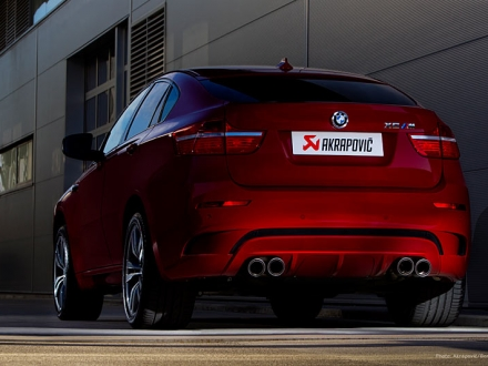 Akrapovic X6M Evolution Exhaust System