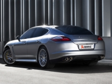 Akrapovic Evolution exhaust system for Porsche Panamera Turbo