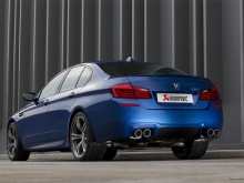 Akrapovic Evolution Titanium Exhaust System for BMW M5 F10
