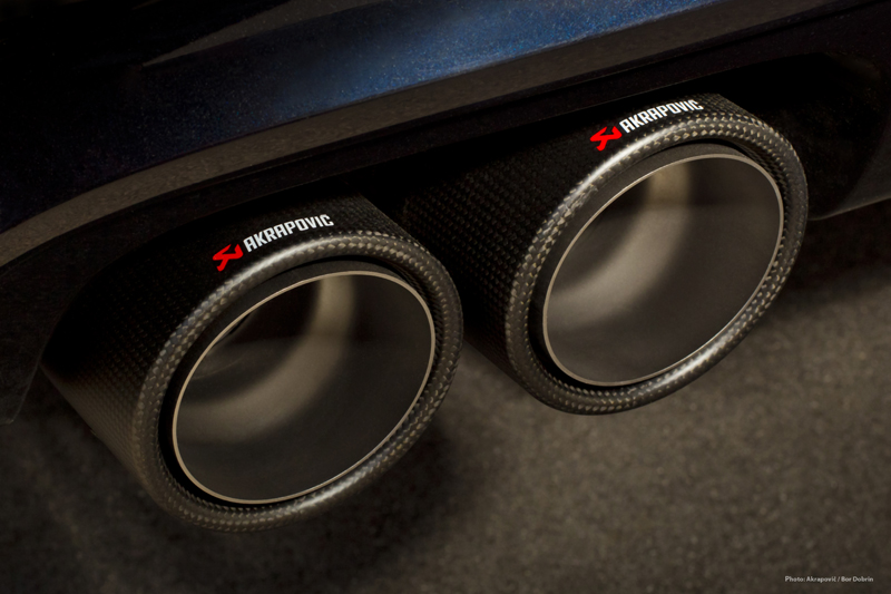 Akrapovic Evolution Exhaust System For The Bmw X5 M E70